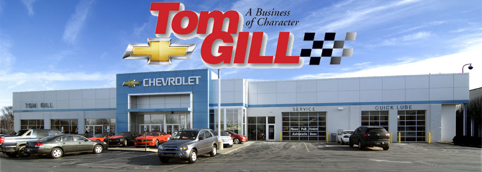 chevy and used car dealer cincinnati covington | tom gill chevrolet