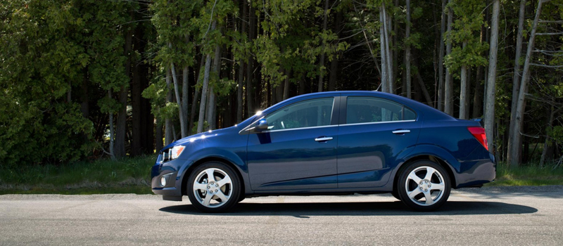two new chevrolet sonic models debuted at the los angeles auto show