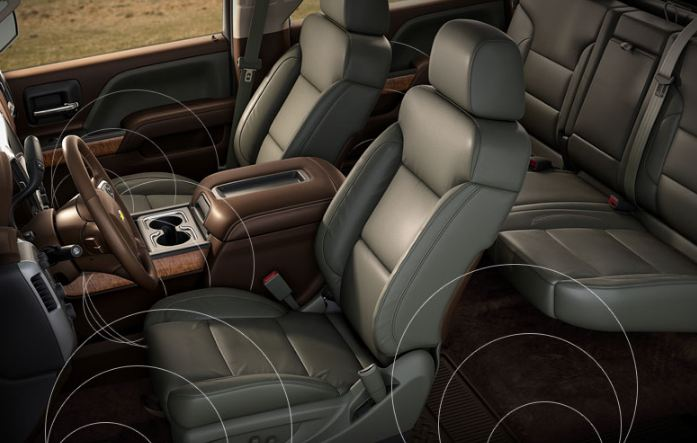 The 2014 Chevy Truck Interior Options
