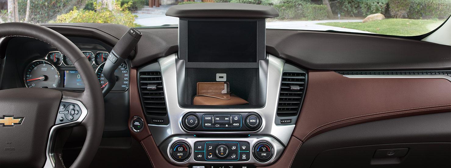2015 Chevrolet Tahoe Full Size Suv Mo Interior  Gallery