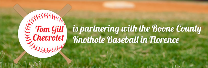 Tom Gill Knothole Baseball Sponsorship