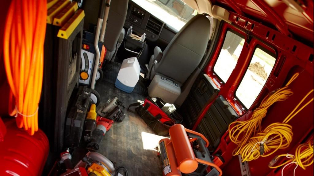 2015 Chevy Express Interior