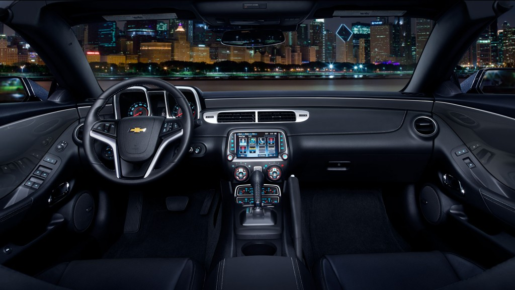 2015 Chevy Camaro Interior
