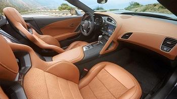 2015 Chevy Corvette Z51 3LT Interior