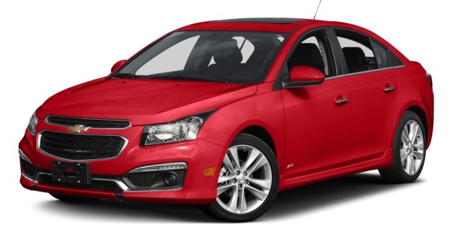 2016 chevy cruze dimensions