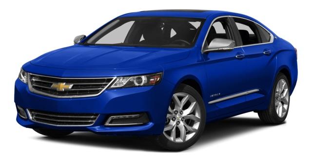 2015 Chevy Impala Front