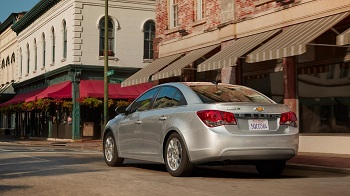 2015 Chevy Cruze Rear