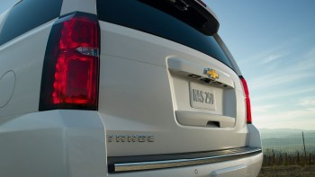 Rear of Chevy Tahoe