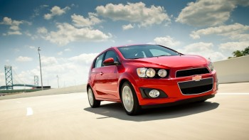 Red Chevy Sonic