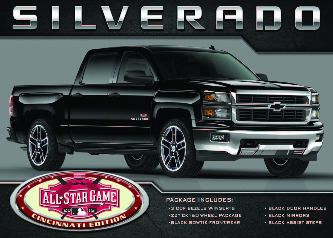 Silverado Special Edition >> The Cincinnati All Star Special Edition Silverado