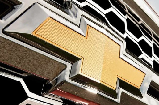 Chevy Badge on Silverado