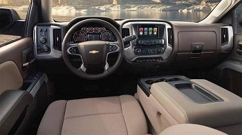 2015 chevy silverado front interior