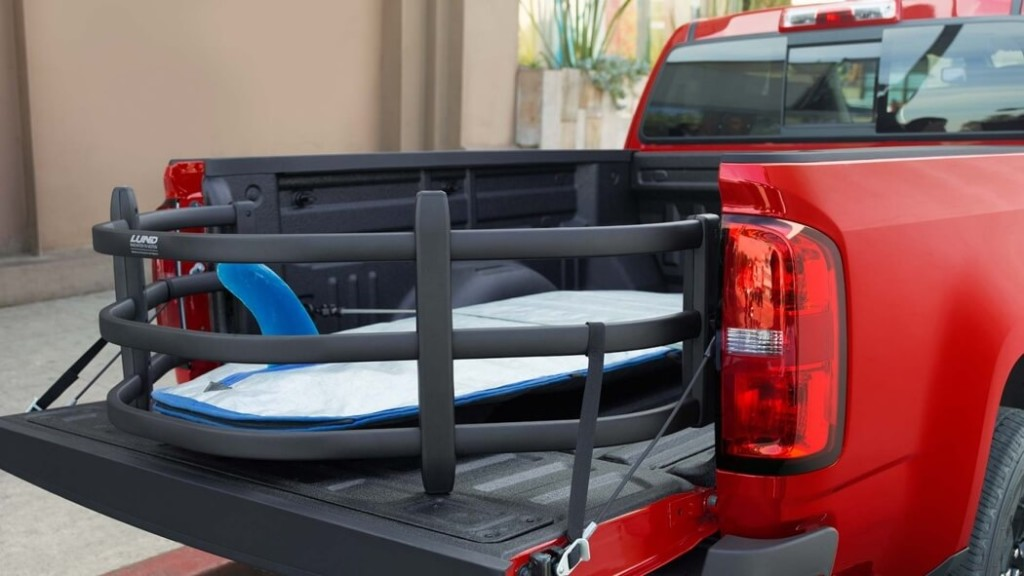 2017 Chevrolet Colorado bed features