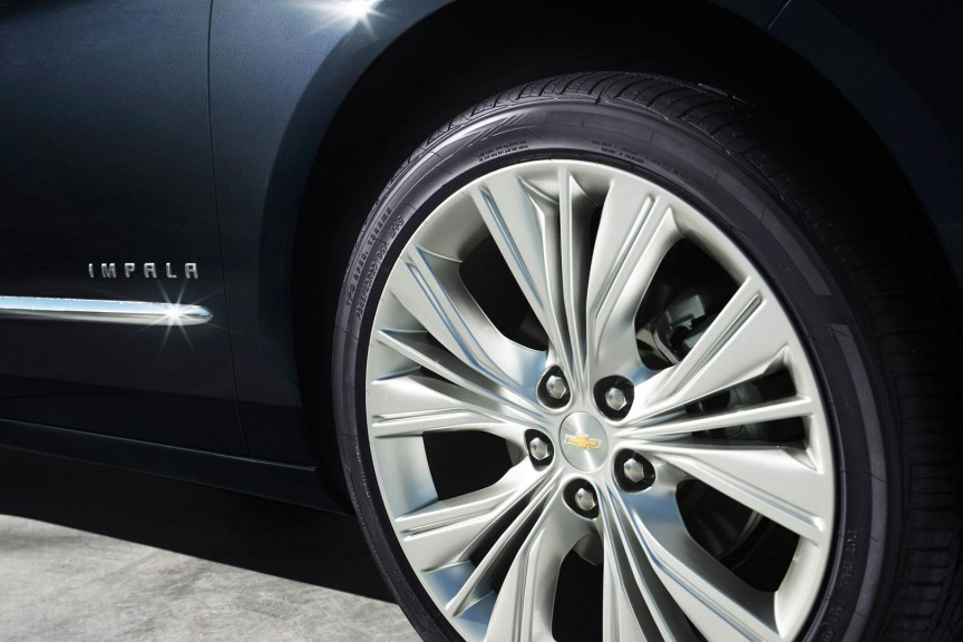 2015 Chevy Impala rims