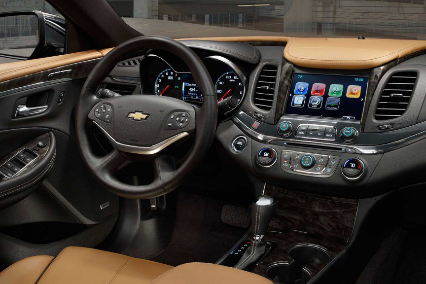 2016 Chevy Impala Interior