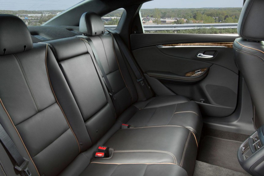 2016 Chevy Impala Passenger Space