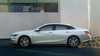 2016 Chevrolet Malibu design