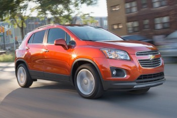 2016 Chevrolet Trax with 1.4L engine