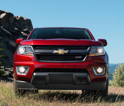 Red 2016 Chevy Colorado Front