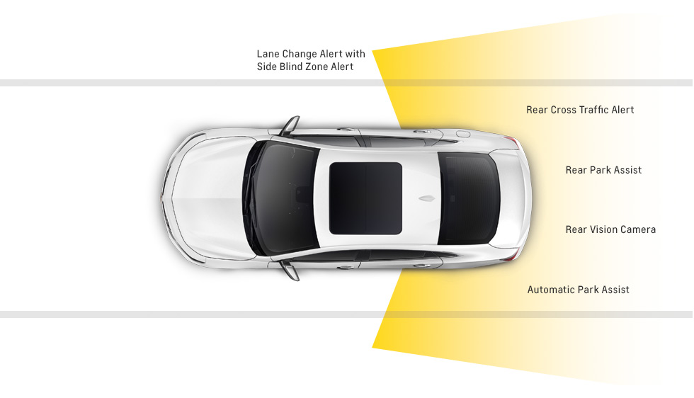 2016 Chevrolet Malibu Rear Safety Features