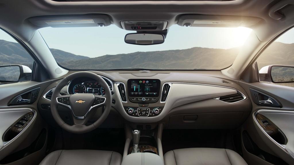2016 Chevy Malibu Interior