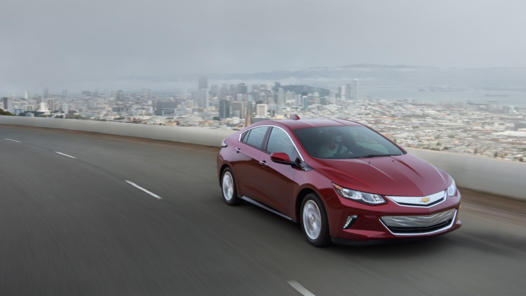 2017 Chevy Volt Performance
