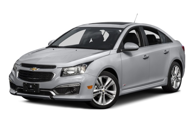 2016 Chevy Cruze Limited Front