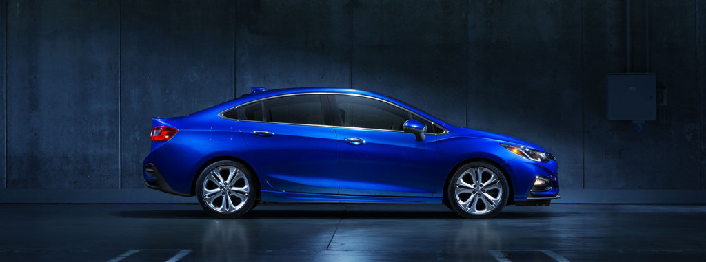 2016 Chevy Cruze side profile