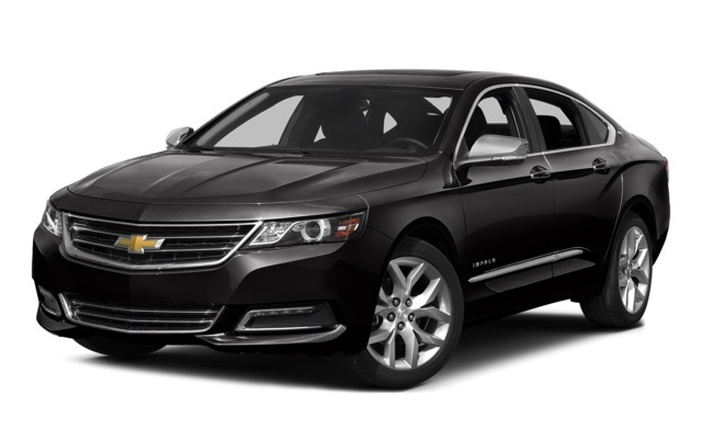 2016 Chevy Impala Front