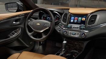2016 Chevy Impala Interior