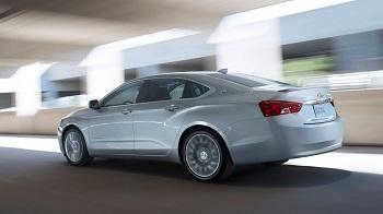 2016 Chevy Impala Performance