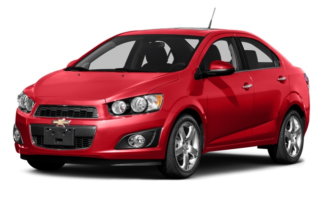 2016 Chevy Sonic Front