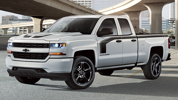 2017 chevrolet silverado special editions. Black Bedroom Furniture Sets. Home Design Ideas