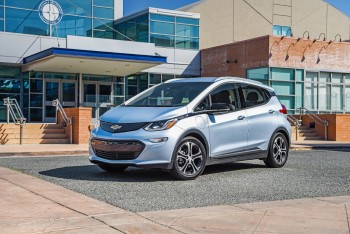 2017 Chevrolet Bolt Awards