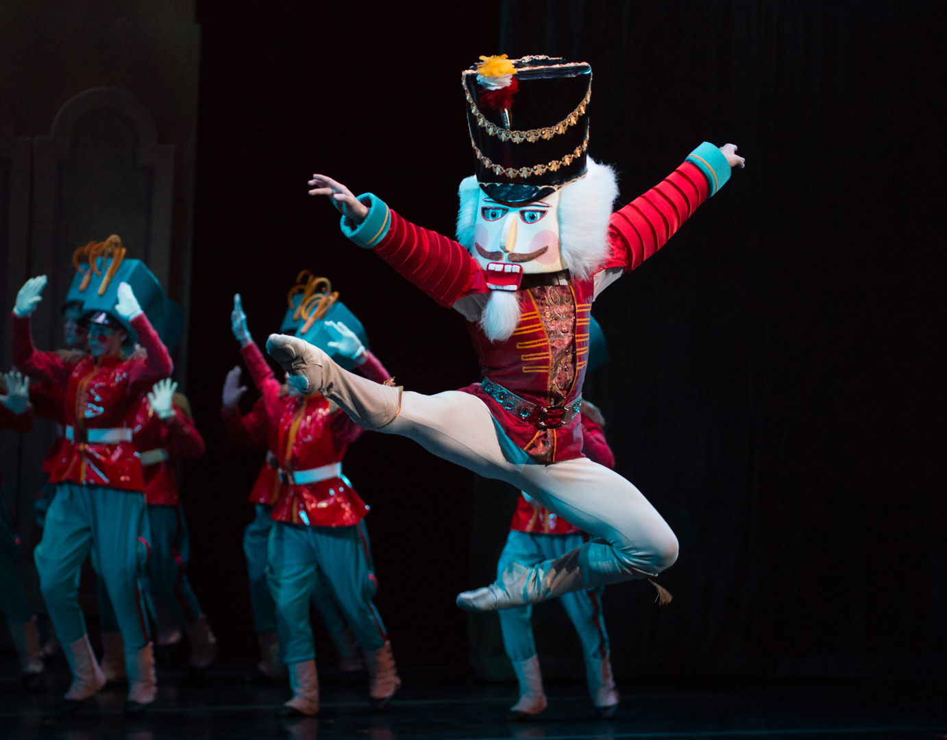 Dancer performing in the nutcracker