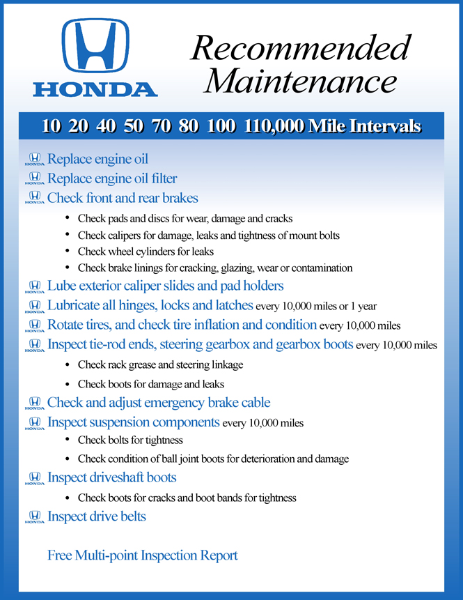 2016 honda hr v maintenance schedule 2017 2018 cars