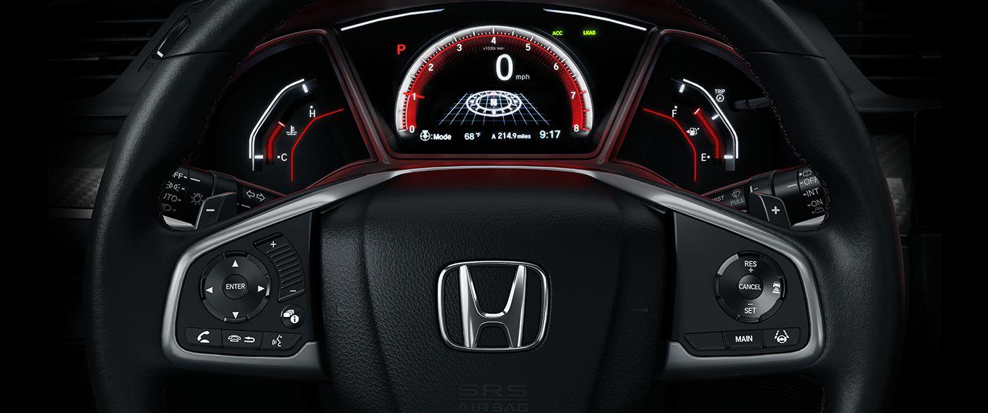 2017 Honda Civic Interior Lightbox