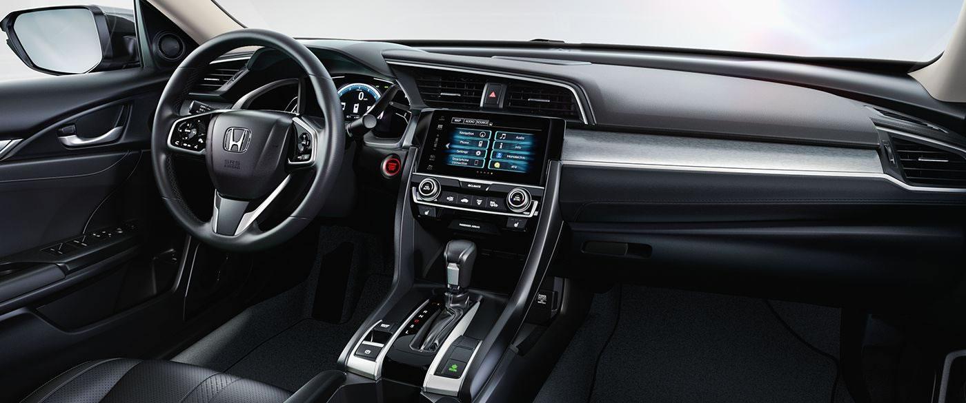 2017 Honda Civic Sedan Interior Lightbox