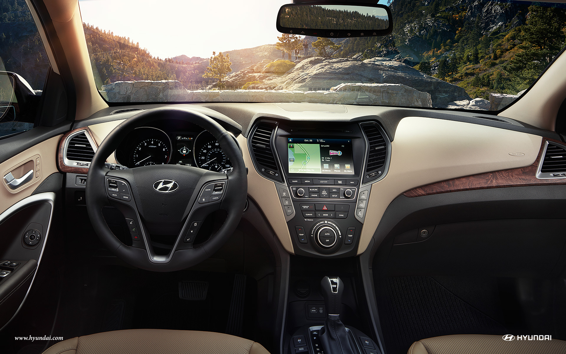 2017 Hyundai Santa Fe Interior Lightbox