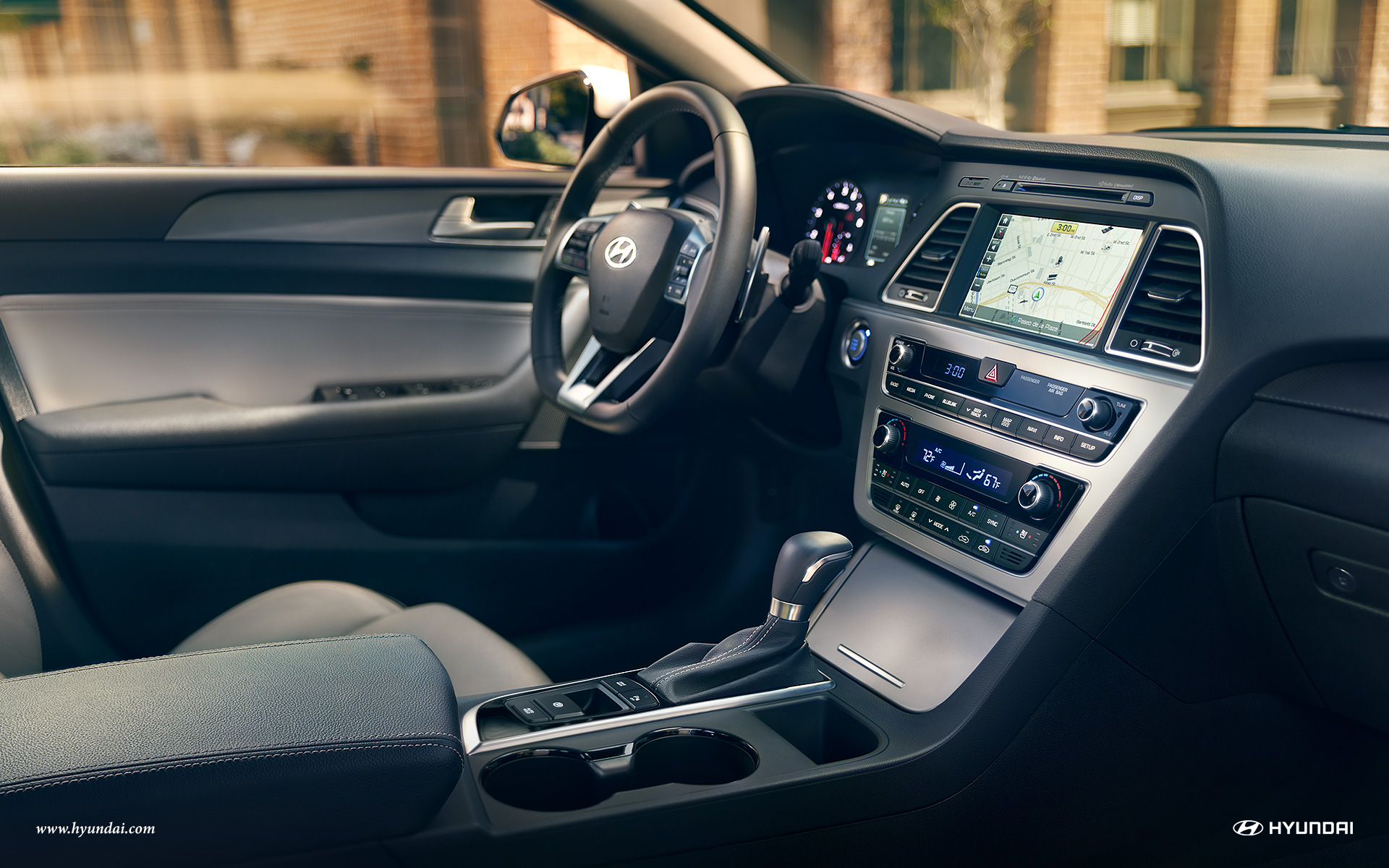 2017 Hyundai Sonata Interior 4