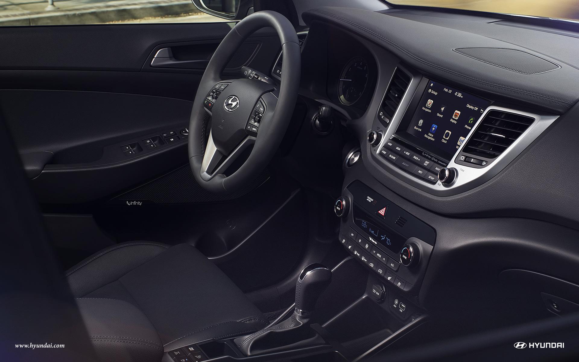 2017 Hyundai Tucson Interior Lightbox