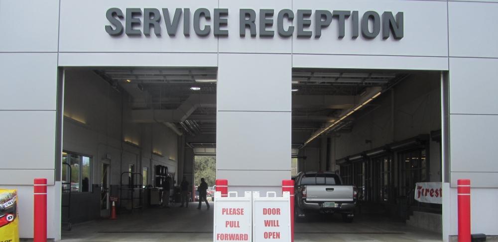 Grappone Toyota Service Garage