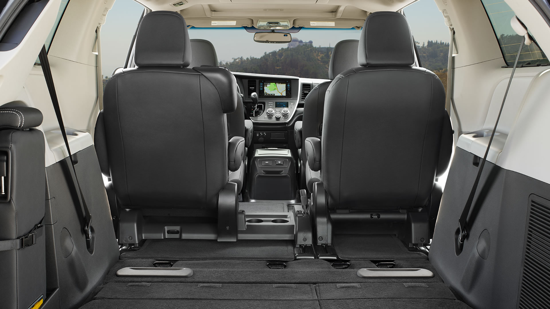 Attractive Toyota Sienna Interior Awesome Design