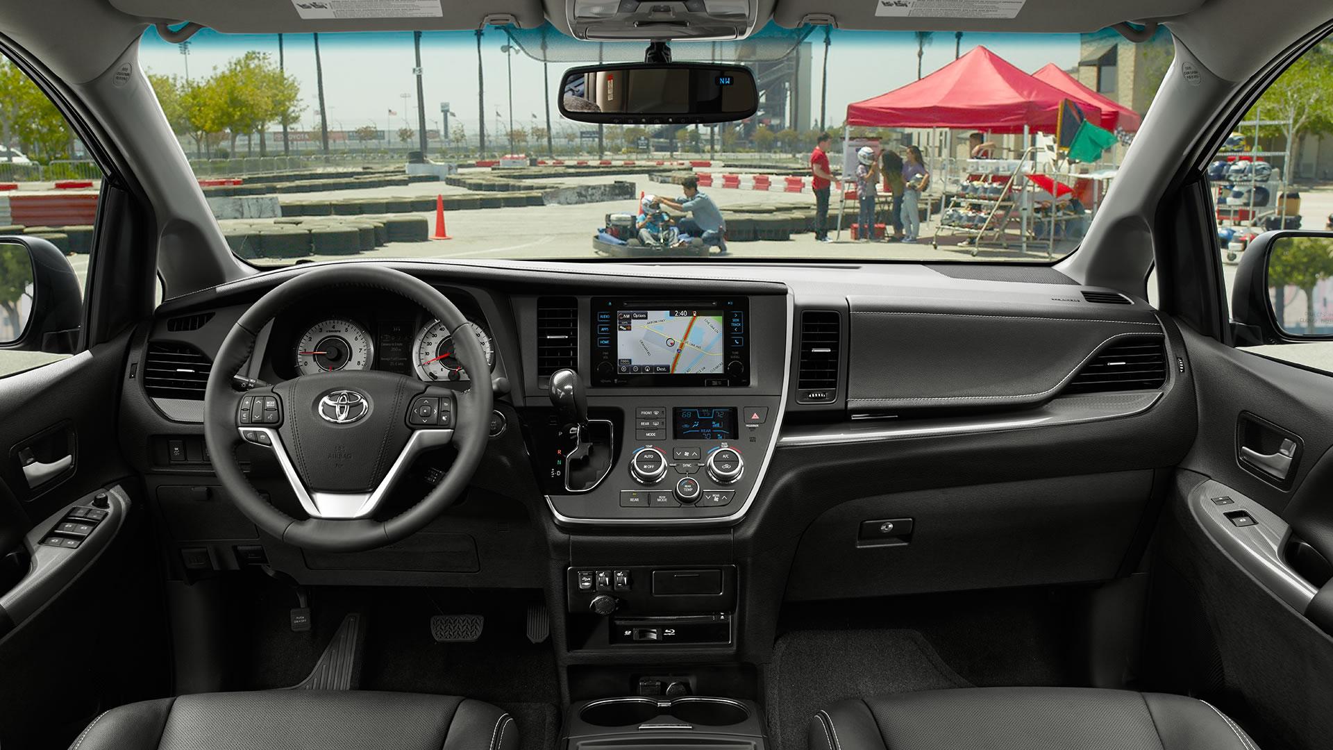 Toyota Sienna Interior Lightbox