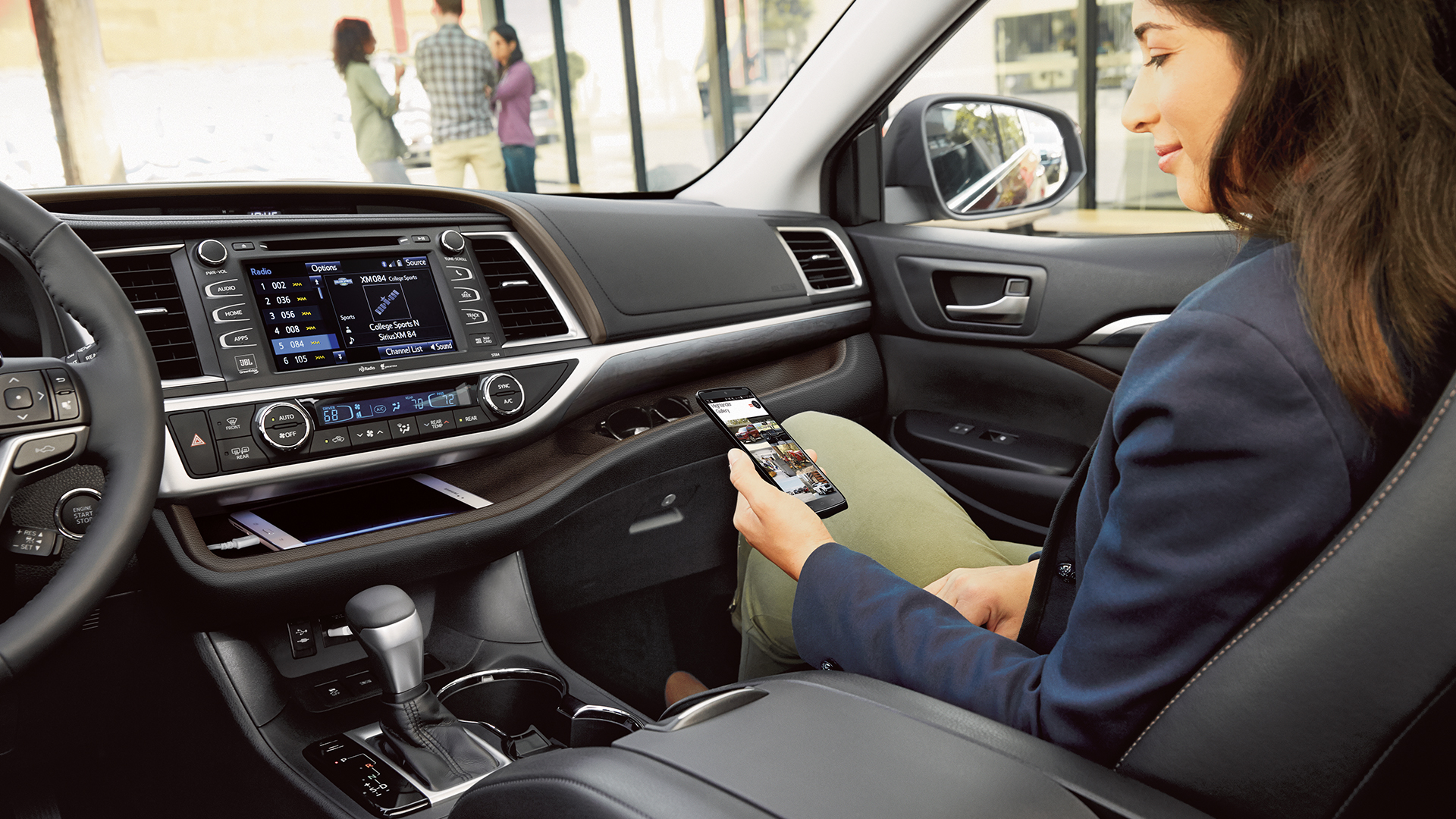 Toyota Highlander Interior Images Galleries With A Bite