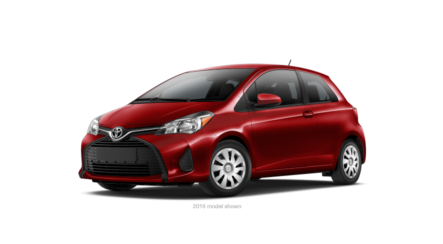 2017 toyota yaris 3 door l lease 219 mo. Black Bedroom Furniture Sets. Home Design Ideas