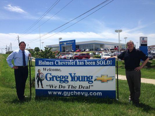 Gregg Young Chevrolet >> Gregg Young Chevrolet Buys Holmes