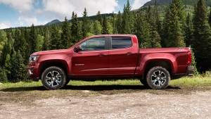 GY 2 Various Options for the 2016 Chevrolet Colorado