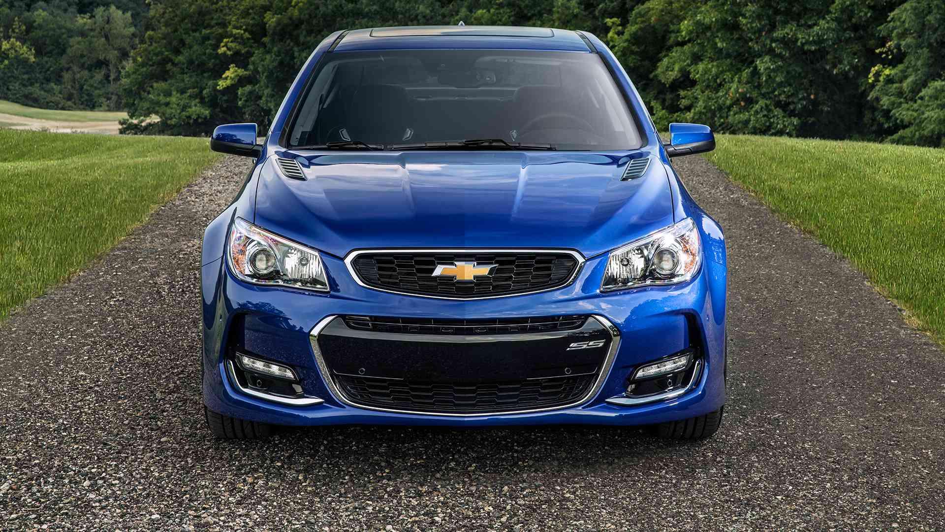 2016 Chevrolet SS Sedan Offered in Nine Exterior Colors