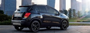 GY 2 2016 Chevrolet Trax Midnight Edition Coming February 2016